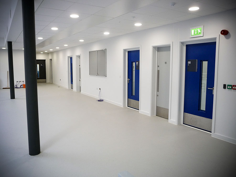 Steel Acoustic Doors. Robust Manufacturing Techniques Mean Steel Soundproof  ...